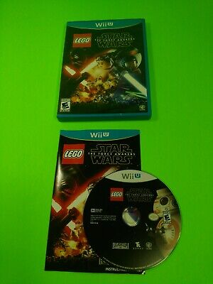 Free Shipping!!!**LEGO STAR WARS: THE FORCE AWAKENS**Wii U,CIB,WB Games,Complete