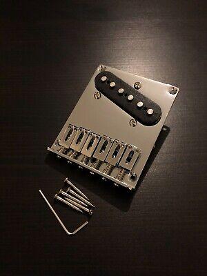 Brand New Fender Squier Bullet Telecaster/Tele Chrome Guitar Bridge + Pickup