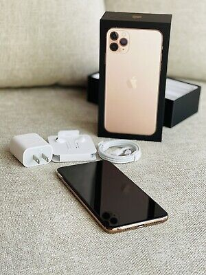 iPhone 11 Pro Max Gold 256gb Unlocked