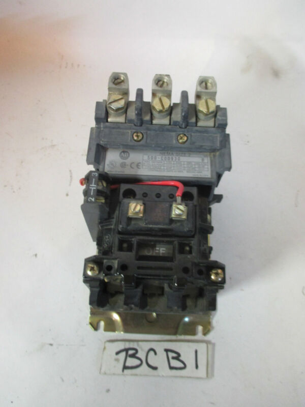 A-B Allen Bradley 500-COD930 Contactor Serie SIZE 2