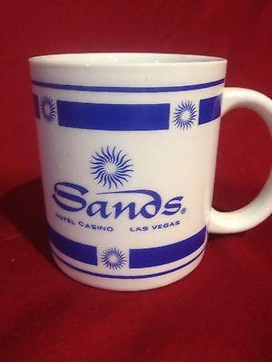 SANDS HOTEL & CASINO LAS VEGAS VINTAGE COFFEE CUP MUG Free shipping!