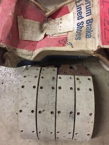 73-75 Chev P truck OE brake shoes