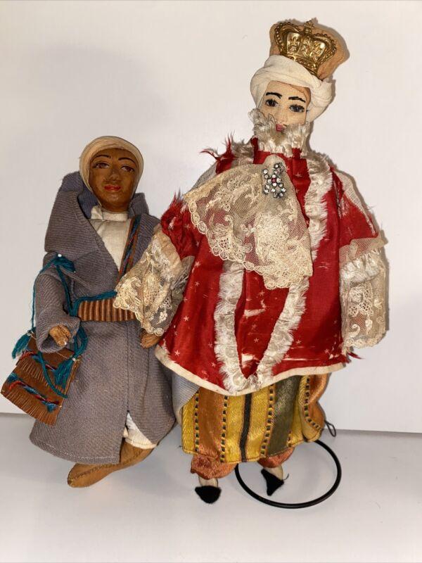 Vintage Pair Of Ethnic Dolls
