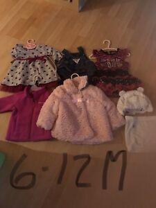 Vêtements fille 6-12 mois