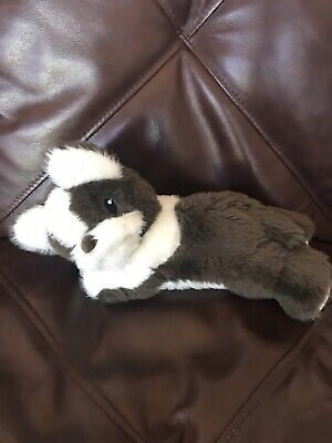 Little Miracles Plush Puppy Dog Brown White French Bulldog Stuffed Animal 13
