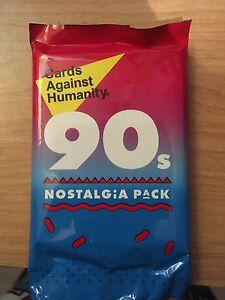 CAH 90's Nostalgia Pack Unopened