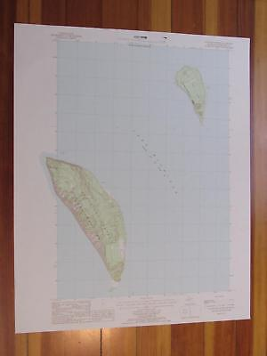 South Fox Island Michigan 1986 Original Vintage USGS Topo Map