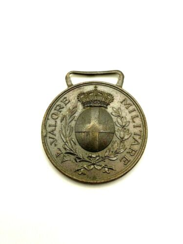 ITALIAN BRAVERY MEDAL VALORE MILITARE MILITARY AWARD WORLD WAR