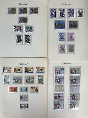 POSTE VATICANE Collection Of Stamps, Sheets And Covers On Pages