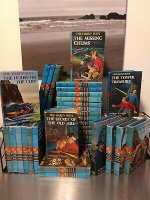 Hardy Boys Mystery Blue VINTAGE MATTE Dixon BUILD A LOT: CHOOSE TITLES FREE SHIP