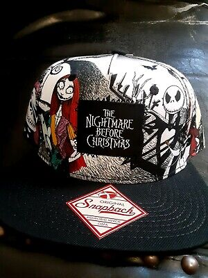 Disney's Nightmare Before Christmas Jack Skellington Sally Oogie Cap Hat  New