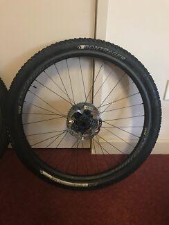 Carbon wheels - 29er mountain bike (TWE)