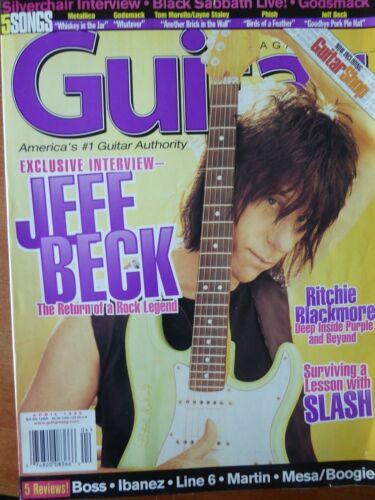 Guitar Magazine - April, 1999