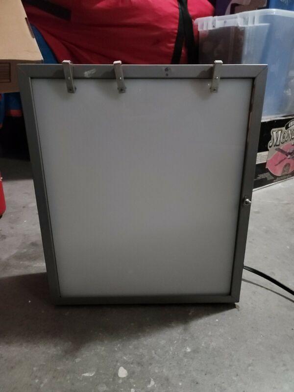 "18""x16"" Vintage Portable Xray Film Illuminator LightBox X-Ray Viewer SPECTRONICS"