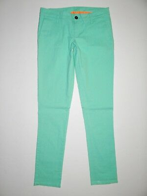 New Hurley Womens Lowrider Chino Cotton Casual Pants Size 5