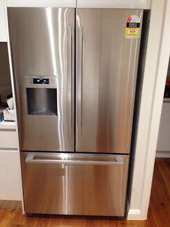 bosch 762l kfn91pj10a french door fridge