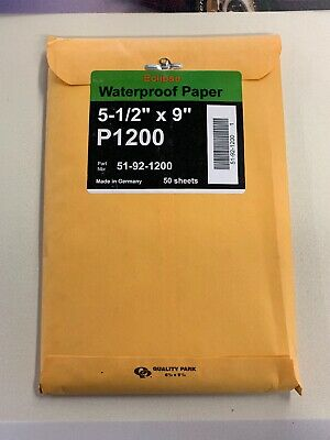 Sungold Eclipse Waterproof Paper 5-12 X 9 P1200 51-92-1200 50ct