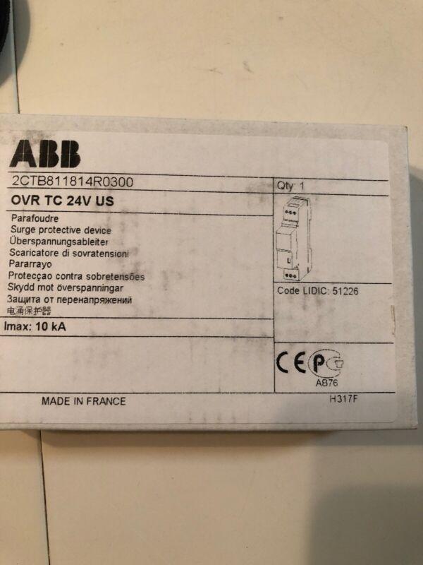 ABB, OVRTC24VUS ,Surge Protector, 24 Volt DC/serial