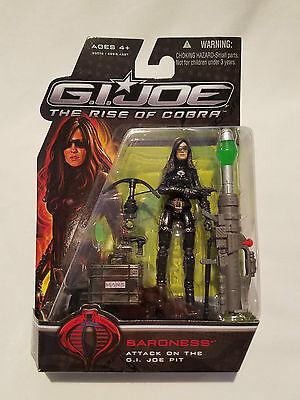 GI Joe The Rise Of Cobra Baroness Action Figure Hasbro 2008 NEW Sealed