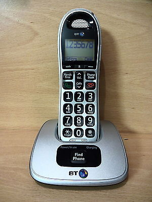 BT Big Button 4000 Single Cordless Telephone House Phone Boxed with Manual
