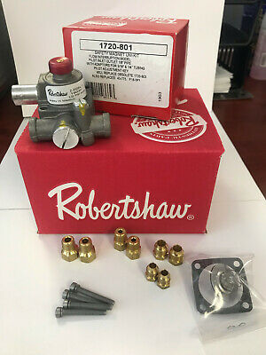 Robertshaw 1720-801 Commercial Cooking Electromagnetic Safety Gas Valve