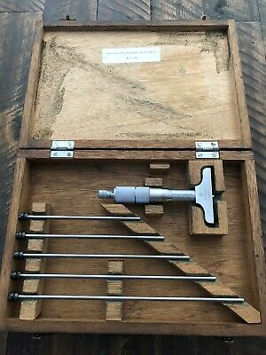 Mitutoyo Depth Micrometer 2.4 Base 0-6 Range