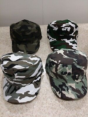 Flat Top Hats Cadet Cap Military Style Caps Jeep Style - Flat Top Hat