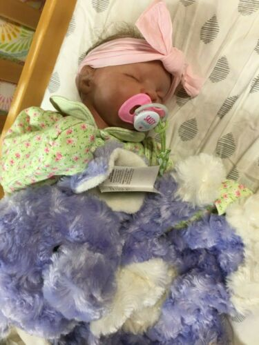 """reborn baby newborn doll GIRL BB Conner therapy doll 19"""""""