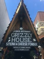 Looking for Grizzly House kitchen staff