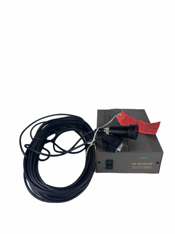 Cohu Security Camera CCD & Controller 8282-1303/0000 Untested Accepts Returns