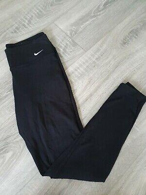 Nike Ladies Dri-fit Black Training Leggings Size S