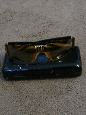 VINTAGE  GIANNI VERSACE   Sunglasses Brown /gold ITALY MOD.X92 COL. N30/251 USED