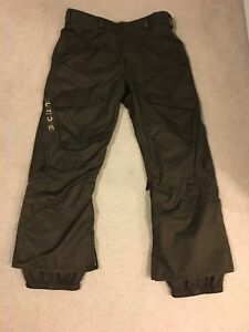 Men's XL Burton snowboarding pants