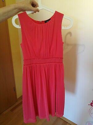 kleid/ Hochzeit Gast/ Jake*S/ coral, rot / Größe 34 (Coral Hochzeit Kleid)