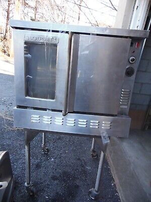 Blodgett Commercial Oven Bakery Pizza Double Door Stainless As Is Gas Oven