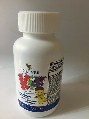 Living Multivitamin - Bottle of Forever Living Kid's MultiVitamins (120 chewable tabl.ea) KOSHER/HALAL