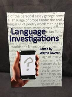 Language Investigations Text book