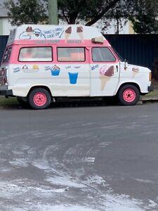 Ice cream van - 1979 Ford Transit Automatic Van/Minivan