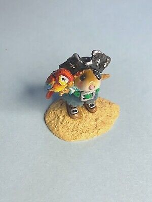 WEE FOREST FOLK M-398b 2009 PIRATE'S PARROT PAL