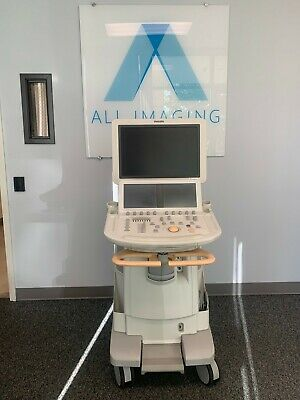 Philips Ie33 G Cart Latest Version Cardiac Ultrasound Machine