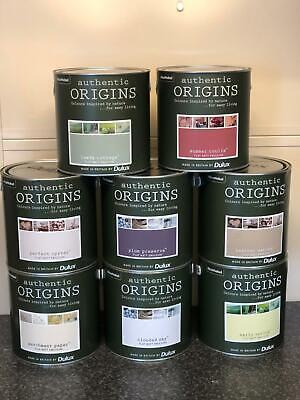 Dulux Authentic Origins Collection Flat Matt Paint 2.5L - Choice of 8 Colours