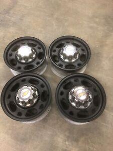 "16"" aluminum Chevy Wheels"