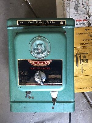 Remote Vintage Parmak Electric Fence Standard Field Model Preowned 6v Batt.