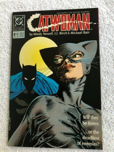 Catwoman #4 (May 1989, DC) Mature VF+ 8.5