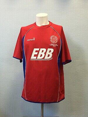 Aldershot Home football shirt 2008 - 2010. Size: L. Carbrini jersey maillot  image