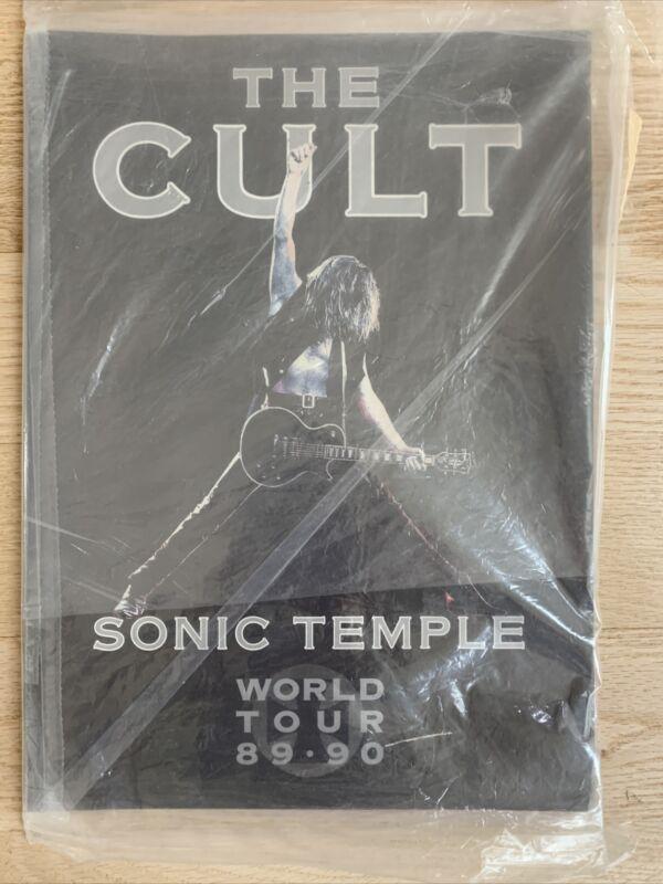 THE CULT 1989 / 1990 SONIC TEMPLE WORLD TOUR CONCERT PROGRAM BOOK Ian Astbury