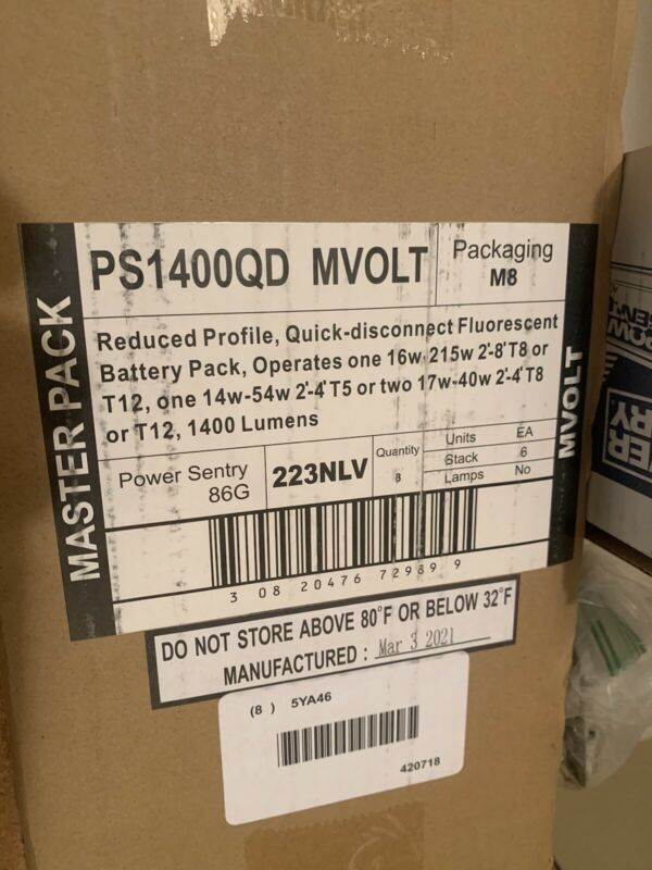 Power Sentry PS1400QDMVOLT Emergency Ballast