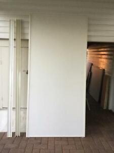 Sliding cupboard doors with tracks Raceview Ipswich City Preview