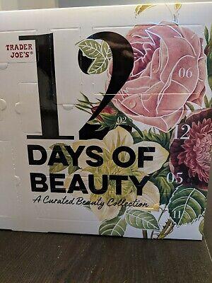 Trader Joe's 12 Days Of Beauty Advent Calendar 2020 Beauty Christmas Gift NEW