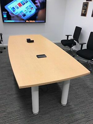 Abco Table Conference Tableexcellent Condition Suitable For 8-10 People Use